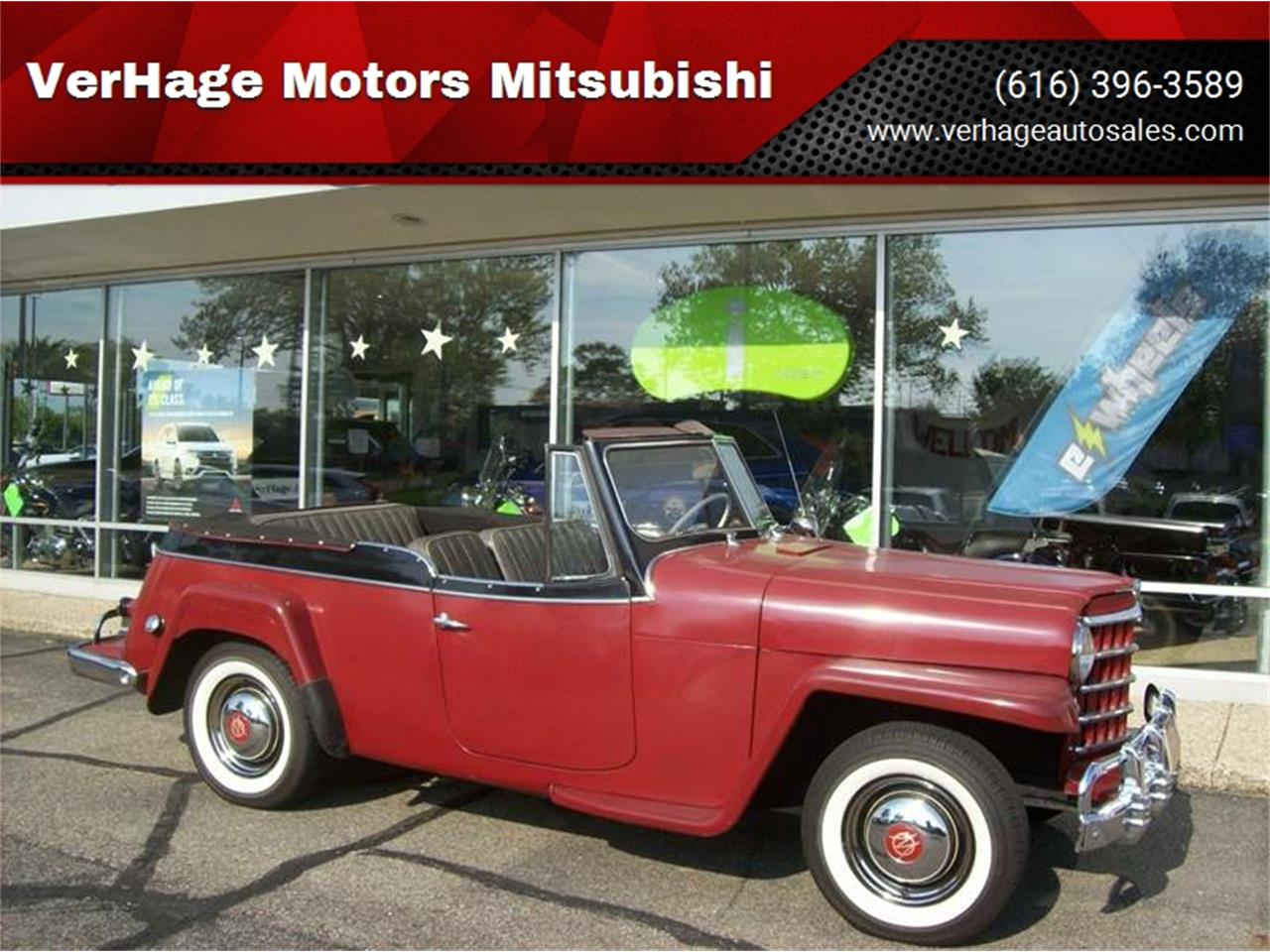 Large Picture of 1951 Jeepster Offered by Verhage Mitsubishi - NI8U