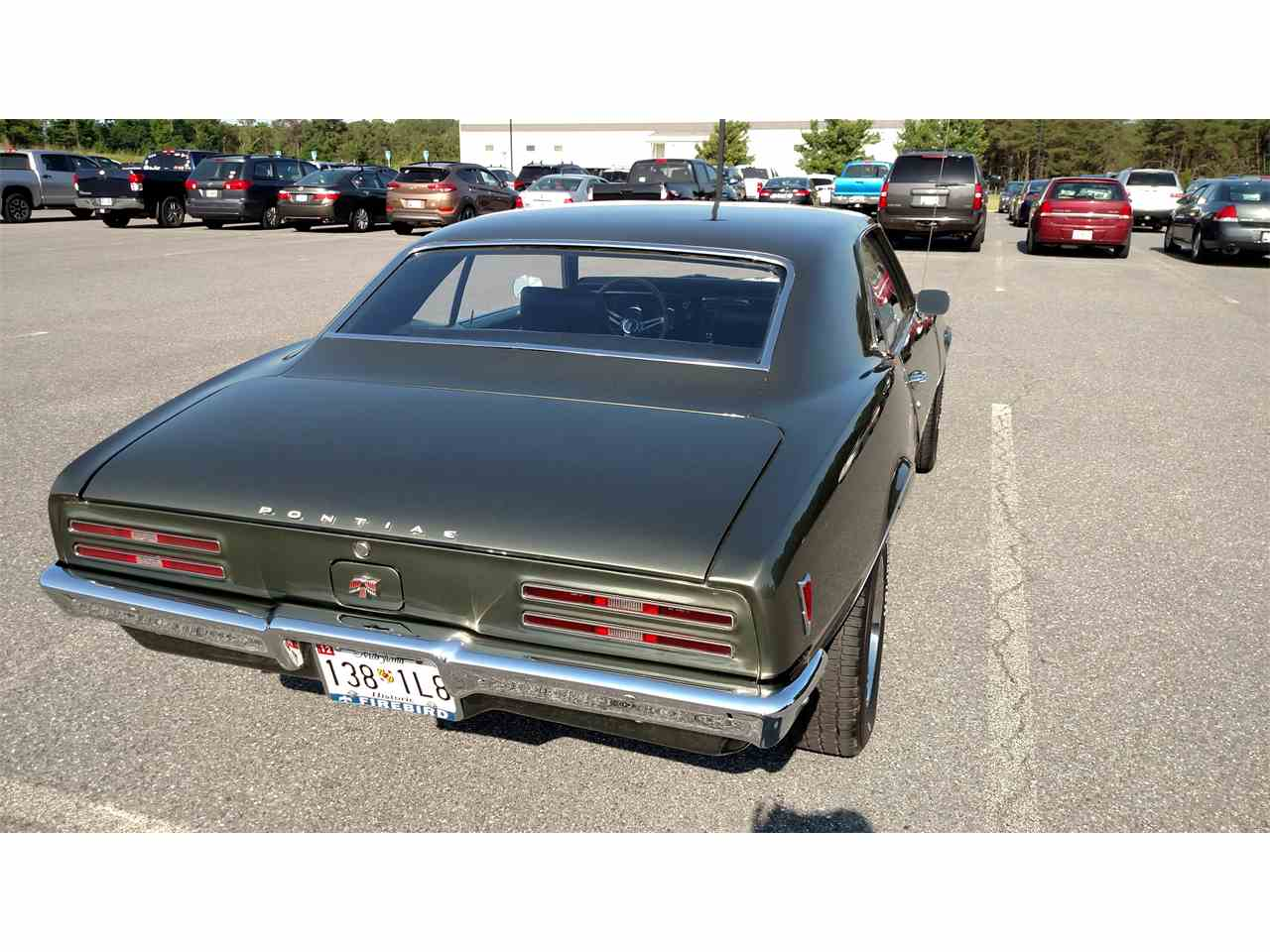 Large Picture of Classic 1968 Firebird located in Maryland Offered by a Private Seller - NI9T