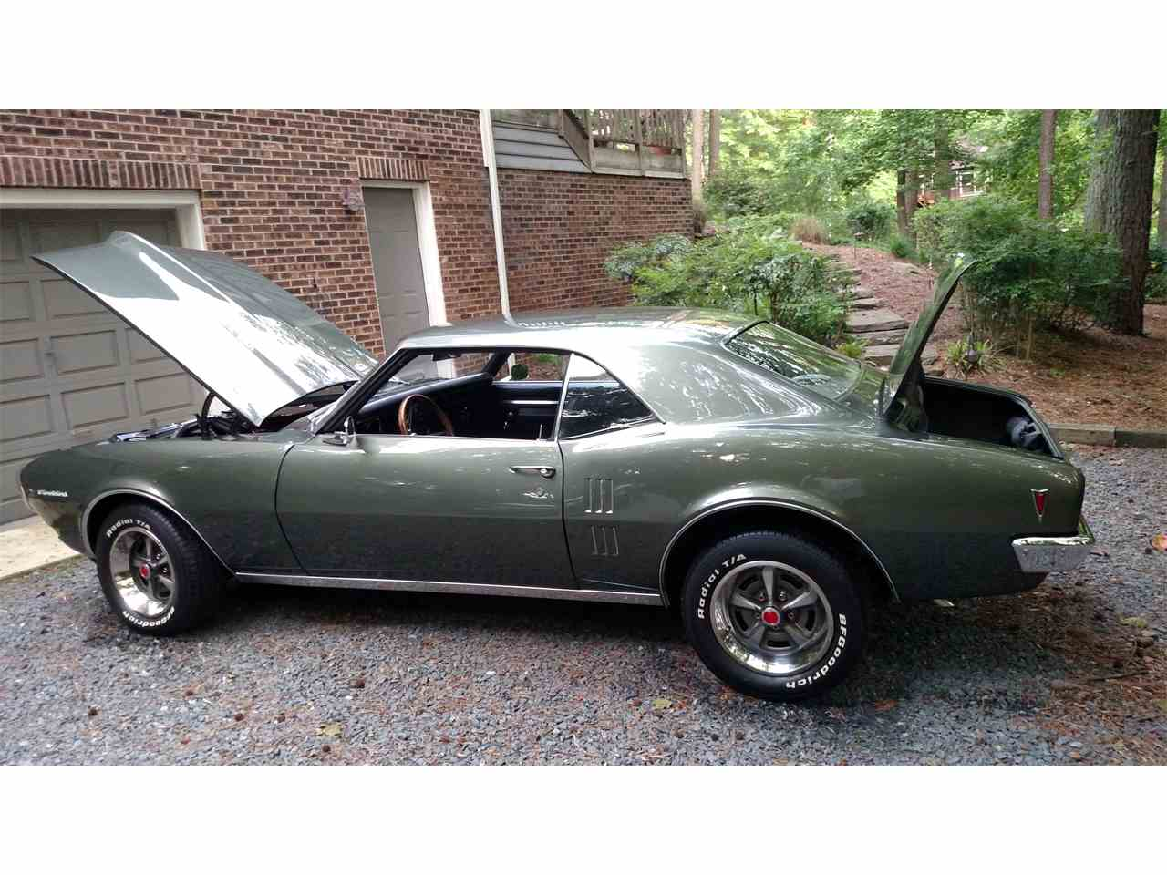 Large Picture of '68 Pontiac Firebird located in Lusby Maryland Offered by a Private Seller - NI9T