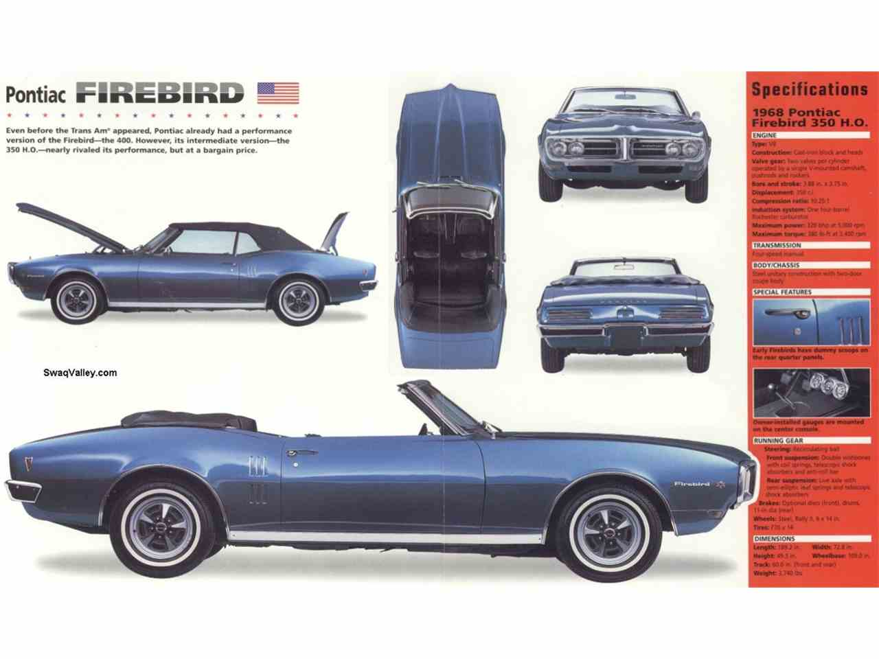 Large Picture of Classic 1968 Firebird - $31,495.00 Offered by a Private Seller - NI9T