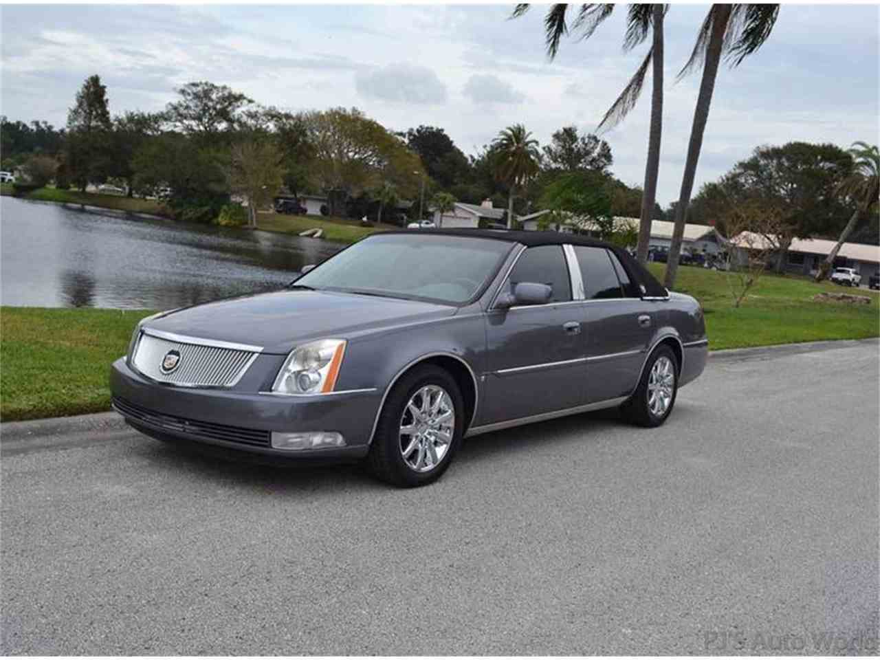 clean sale sedan cooled for dts vehicle loaded miles cadillac low seats htd lthr photo details