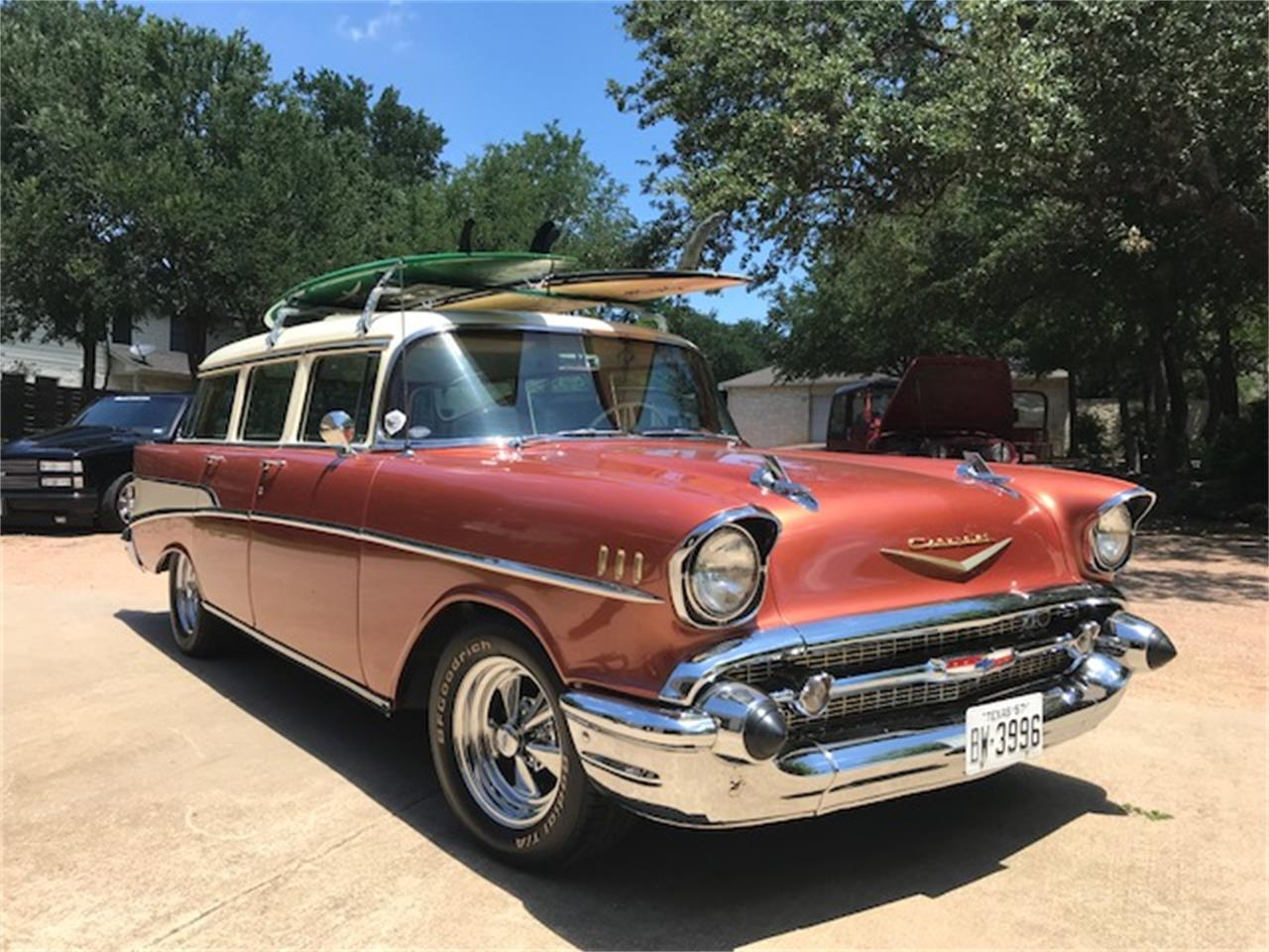 For Sale 1957 Chevrolet Bel Air Wagon In Boerne Texas