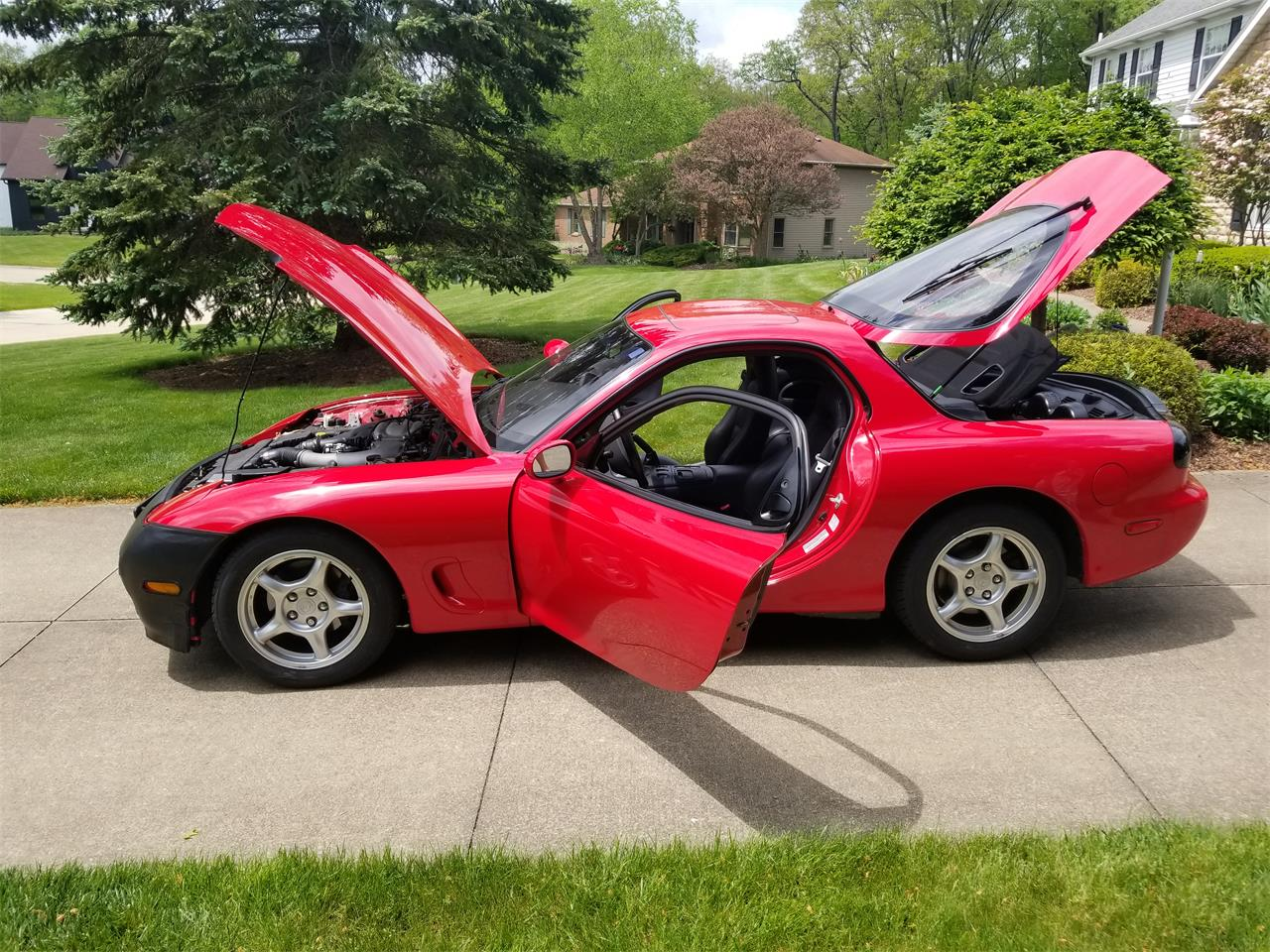 Large Picture of 1993 Mazda RX-7 located in Ohio - NICV