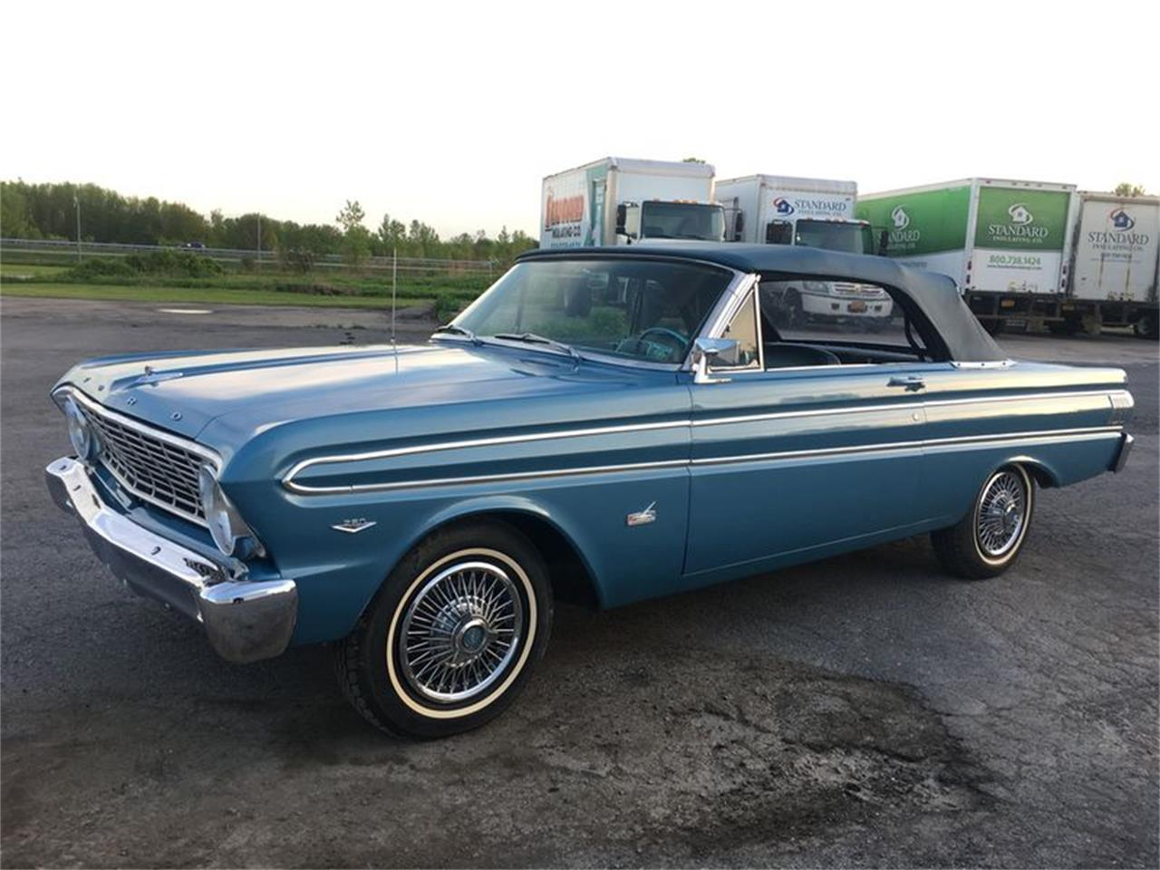1964 Ford Falcon For Sale Cc 1097140 Futura Convertible Large Picture Of Classic Auction Vehicle Offered By Carlisle Auctions Nik4