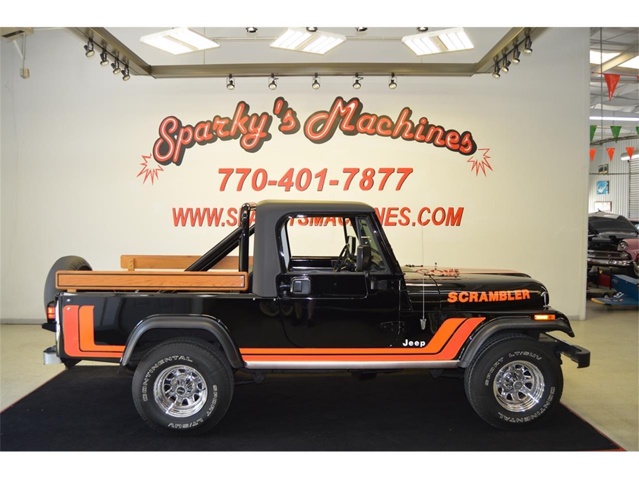 For Sale 1981 Jeep Cj8 Scrambler In Loganville Georgia
