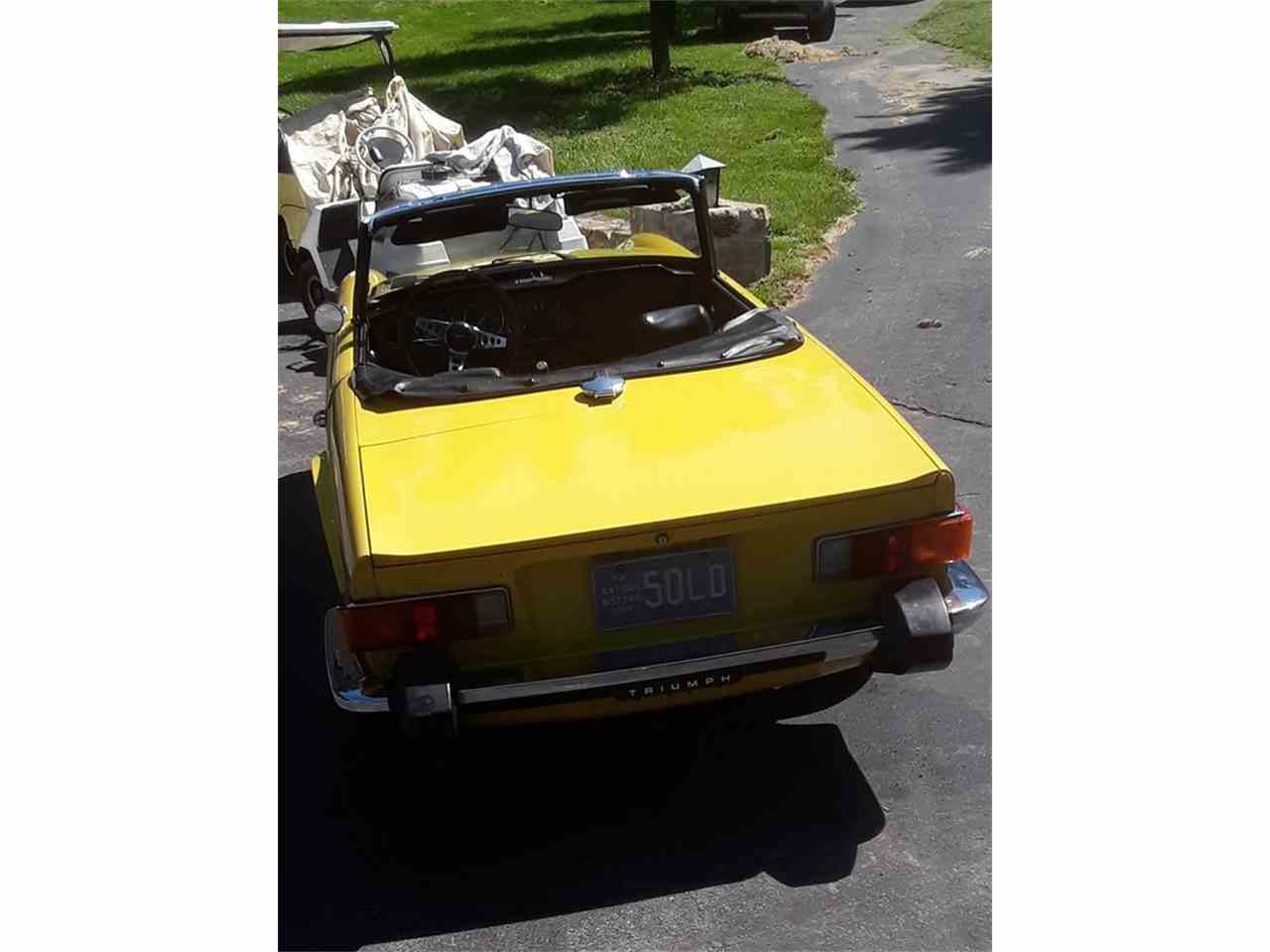 Large Picture of '76 TR6 - NINM
