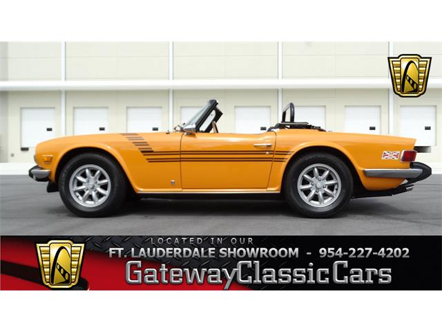 Picture of '75 TR6 - NIPM