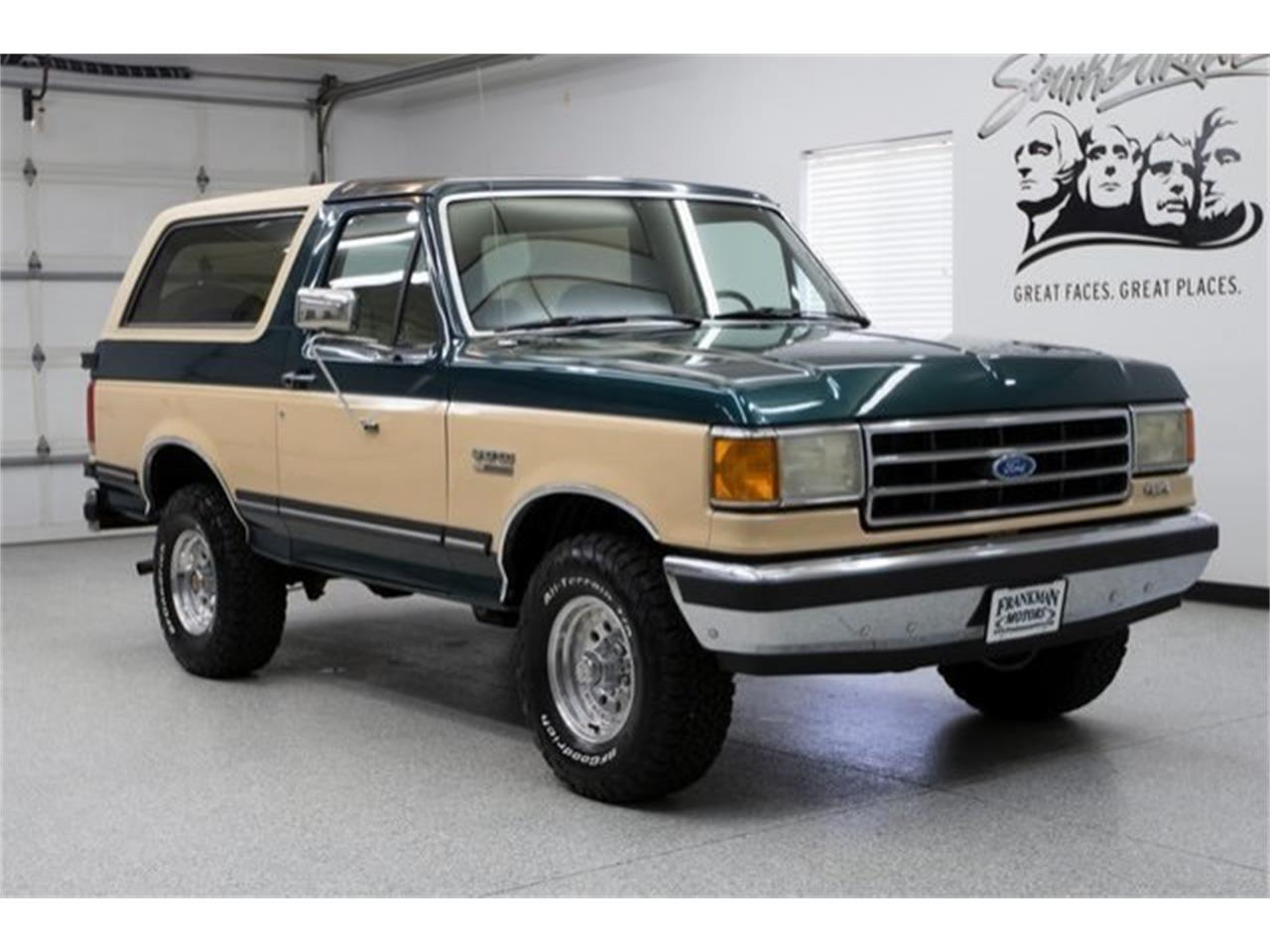 1991 ford bronco for sale classiccars com cc 1097448
