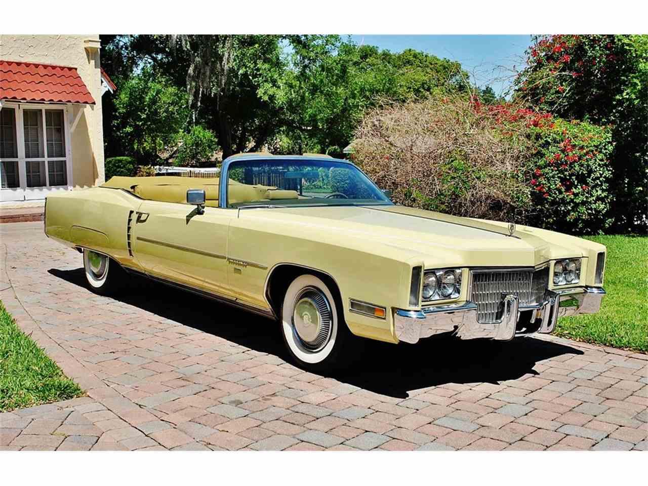 1971 Cadillac Eldorado for Sale | ClicCars.com | CC-1097647