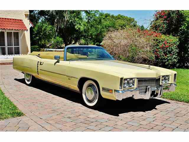 Picture of Classic '71 Eldorado located in Lakeland Florida - $22,500.00 Offered by  - NIY7