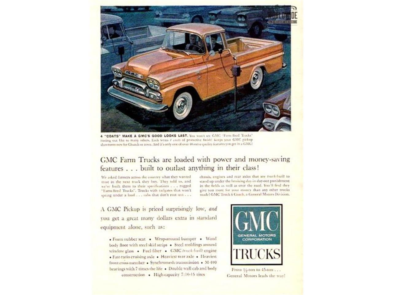 1959 Gmc Truck For Sale Cc 1090771 Gm Fuel Filter Large Picture Of 59 Ndn7