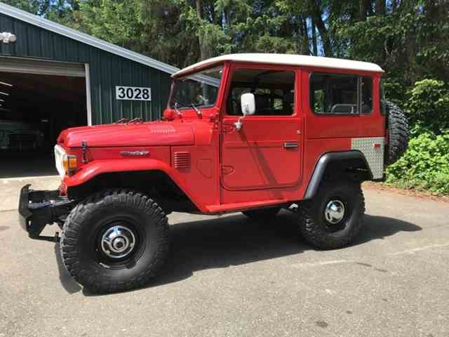 Picture of '80 Land Cruiser FJ located in Gig Harbor Washington - $44,500.00 - NJ2T