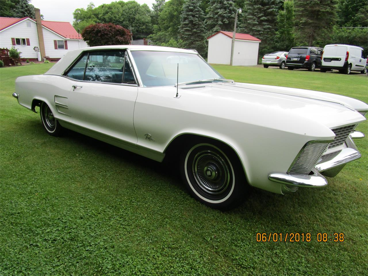 Large Picture of 1963 Riviera located in Pennsylvania Auction Vehicle Offered by Central Pennsylvania Auto Auction - NJ7B