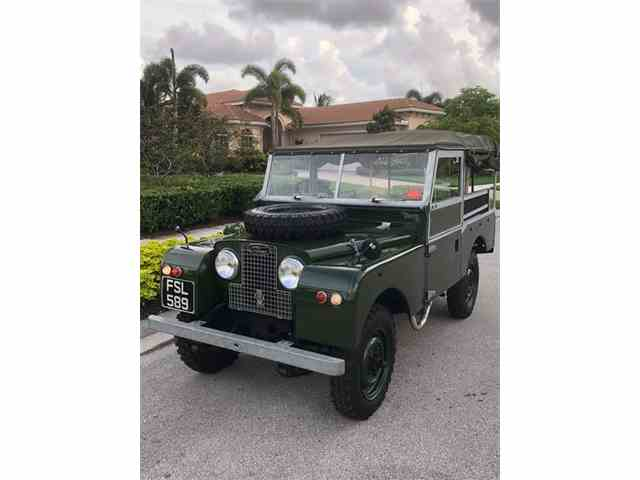 Picture of '58 Land Rover Series I Offered by a Private Seller - NJ7F