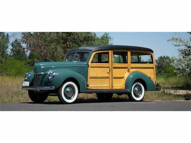 Picture of 1940 Ford Station Wagon Woody located in Englewood Colorado Offered by  - NJ7R