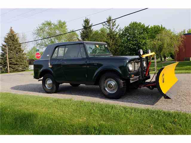Picture of Classic '67 International Scout located in Connecticut Auction Vehicle - NJ9O