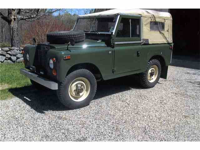Picture of Classic 1970 Land Rover Series IIA located in Connecticut Offered by  - NJAL