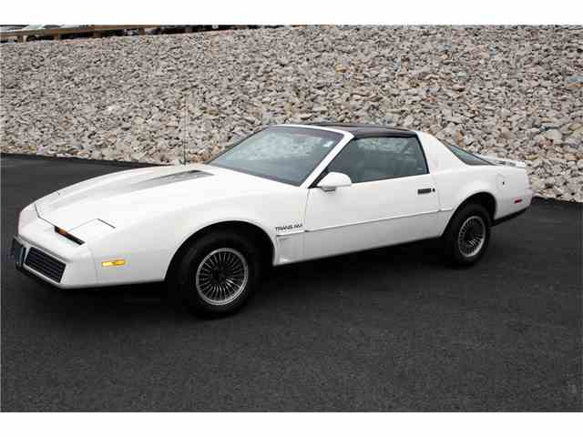 Picture of 1984 Pontiac Firebird Trans Am Auction Vehicle - NJCF