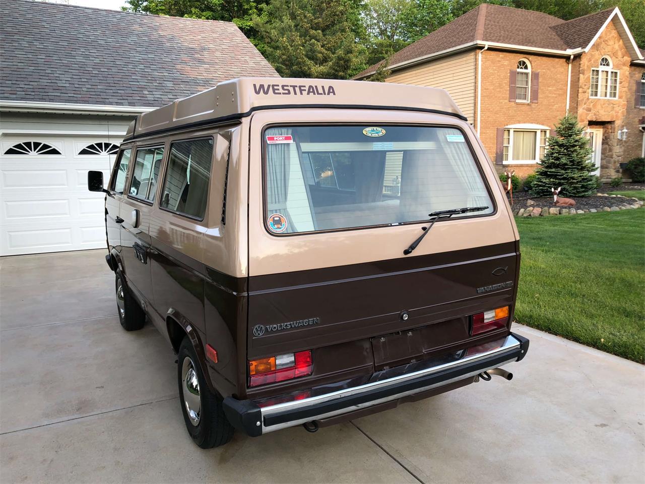1984 Volkswagen Westfalia Camper For Sale Classiccars