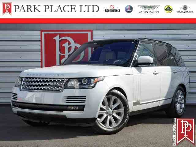 Picture of 2016 Range Rover - $75,950.00 Offered by  - NJMS