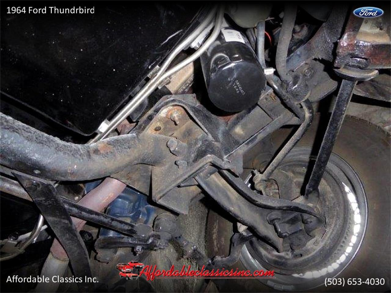 1964 Ford Thunderbird For Sale Cc 1090856 Fuel Tank Large Picture Of 64 Ndpk