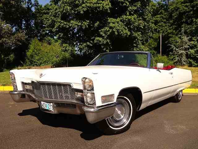 Picture of 1968 Cadillac DeVille - $29,900.00 - NJS7