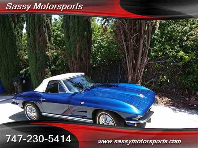 Picture of Classic '64 Chevrolet Corvette Stingray located in Los Angeles California - $64,000.00 - NJVZ