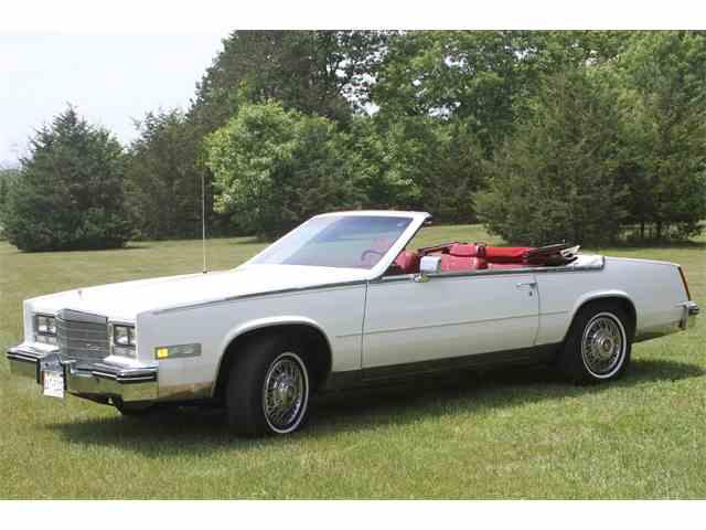 Picture of '84 Cadillac Eldorado Biarritz located in Poynette Wisconsin - NJWH