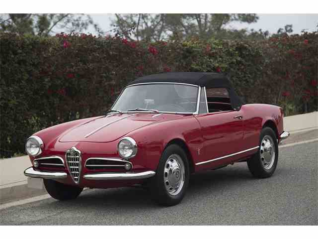 Picture of Classic 1959 Alfa Romeo Giulietta Spider Veloce Auction Vehicle Offered by  - NK1I