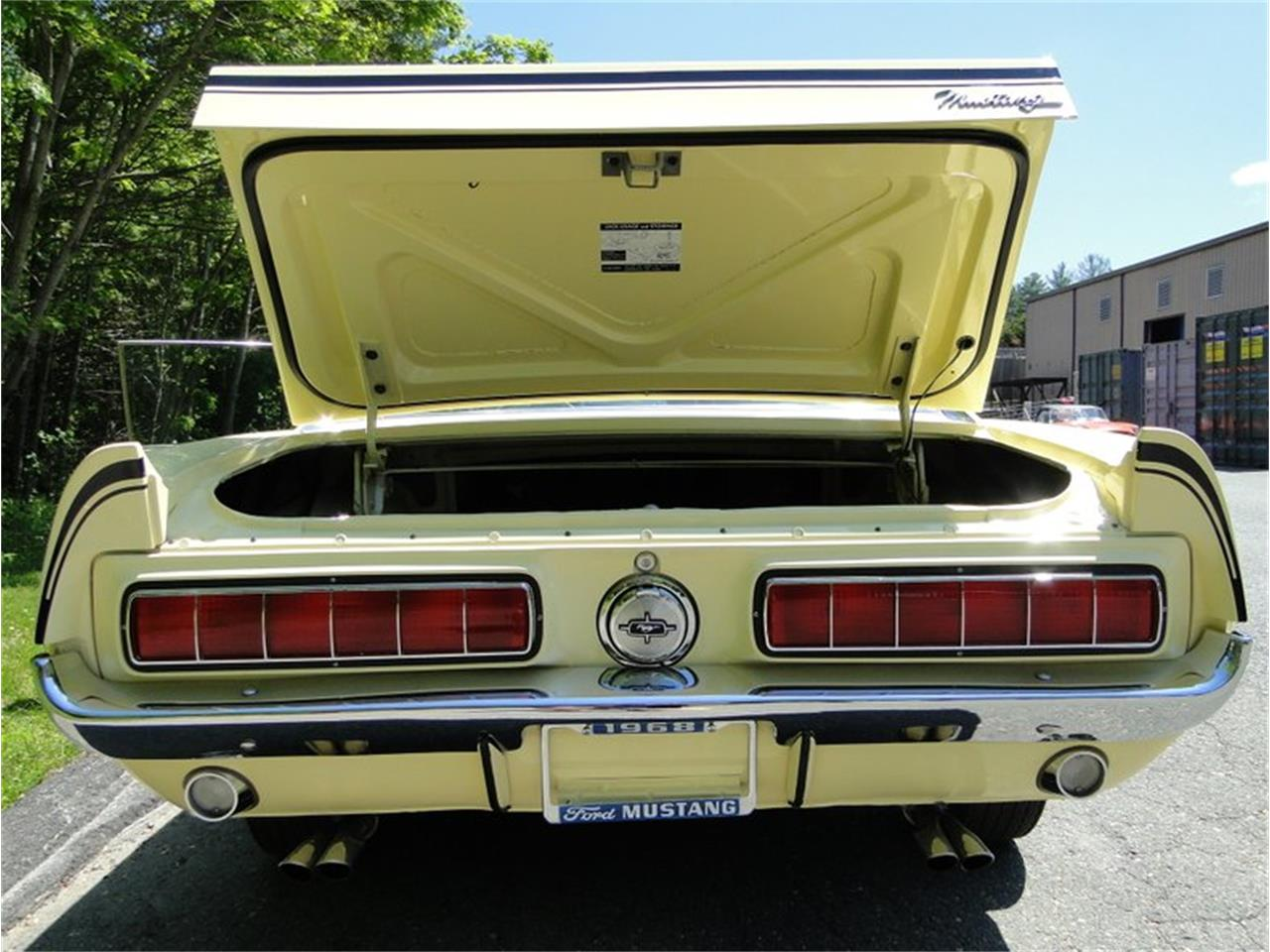 Large Picture of '68 Mustang located in Massachusetts Offered by Legendary Motors LLC - NK6E