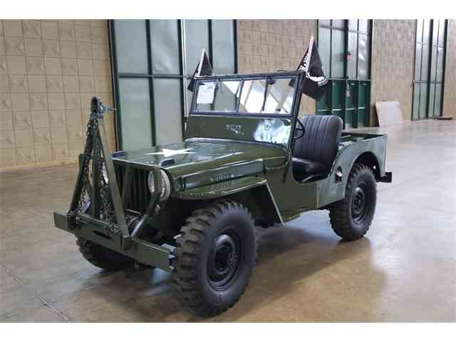 Classic Willys For Sale On Classiccars Com