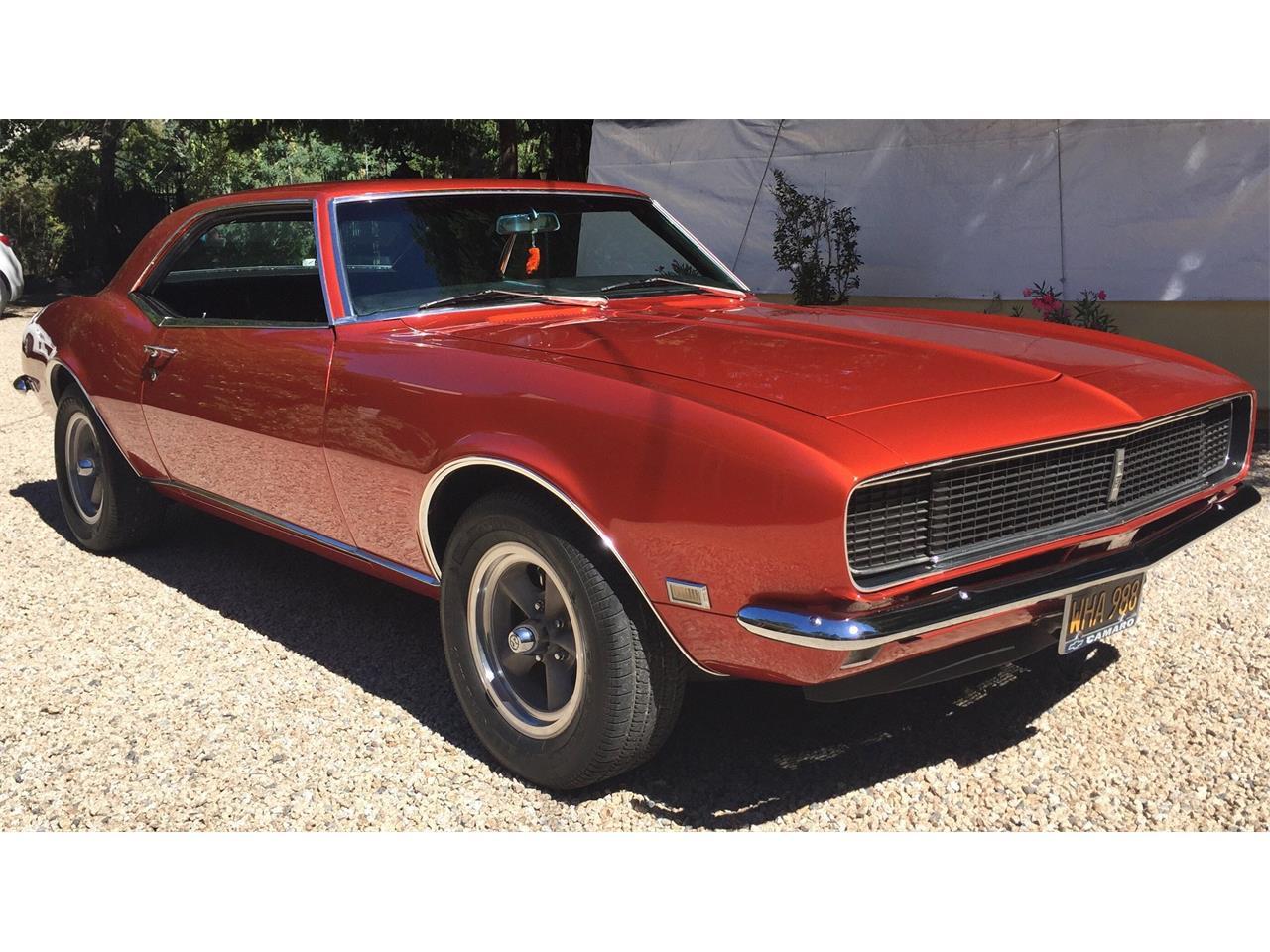 1968 chevrolet camaro rs for sale cc 1099502. Black Bedroom Furniture Sets. Home Design Ideas