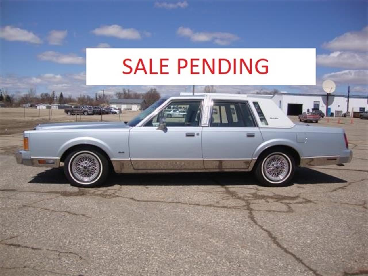 1989 Lincoln Town Car For Sale Classiccars Com Cc 1090955