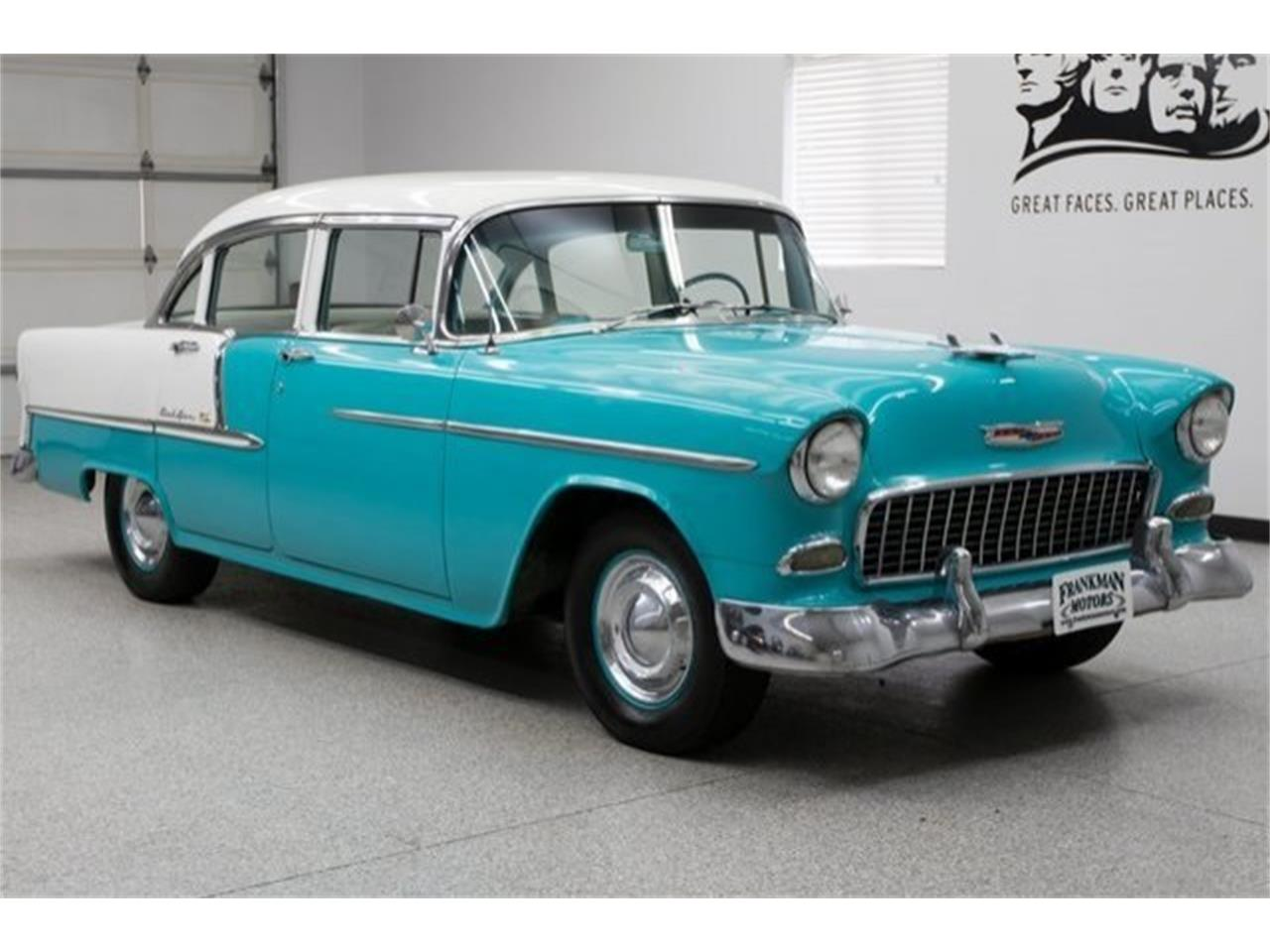 1955 Chevrolet Bel Air For Sale Cc 1099685 409 Large Picture Of 55 Nkit