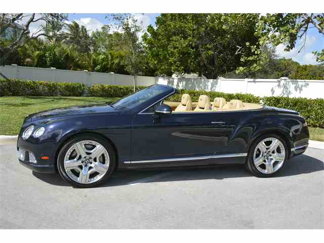 Picture of 2012 Bentley Continental located in Boca Raton Florida - $109,500.00 - NKP3