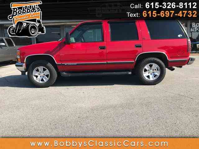 Picture of '99 Chevrolet Tahoe - $5,500.00 - NLYU