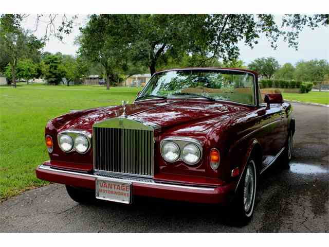 Picture of 1987 Rolls-Royce Corniche II located in Florida Auction Vehicle Offered by  - NM1L