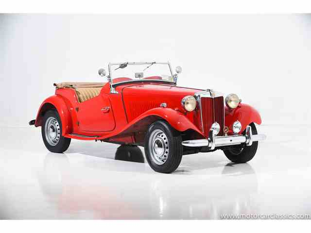Picture of 1950 MG TD - NM5H