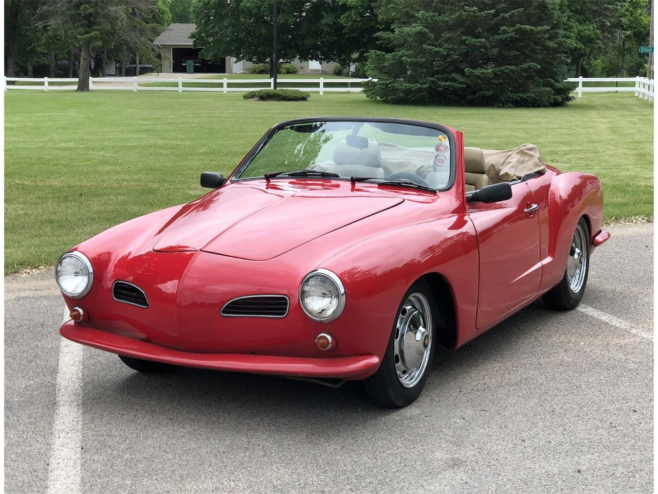 Large Picture of '72 Volkswagen Karmann Ghia located in Minnesota Offered by Silver Creek Classics - NM7V
