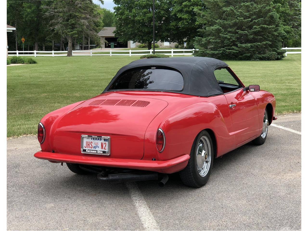 Large Picture of Classic '72 Volkswagen Karmann Ghia located in Minnesota - $14,950.00 Offered by Silver Creek Classics - NM7V