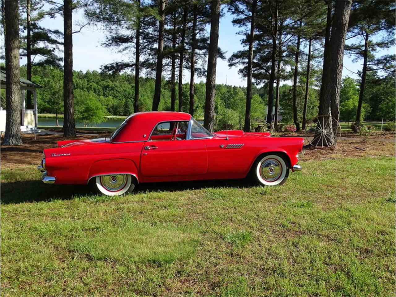Large Picture of 1955 Ford Thunderbird Auction Vehicle Offered by GAA Classic Cars Auctions - NMA5