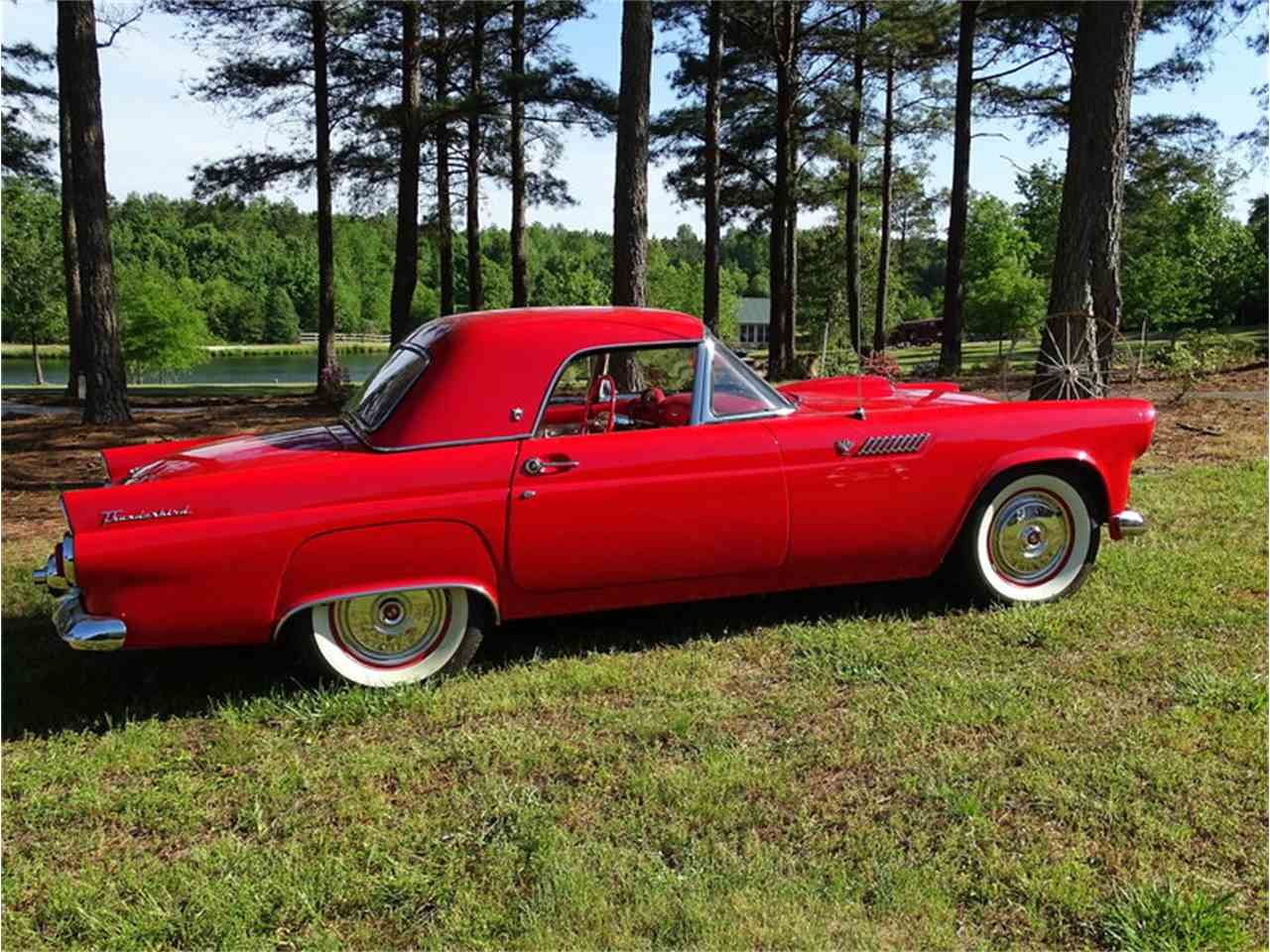Large Picture of '55 Thunderbird located in Greensboro North Carolina Offered by GAA Classic Cars Auctions - NMA5