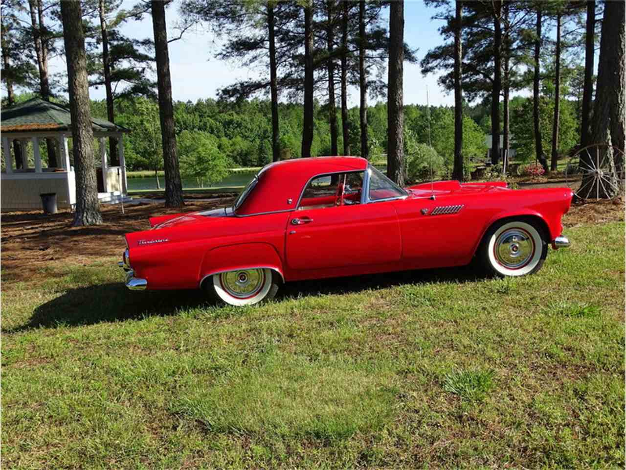 Large Picture of 1955 Ford Thunderbird located in North Carolina Auction Vehicle Offered by GAA Classic Cars Auctions - NMA5