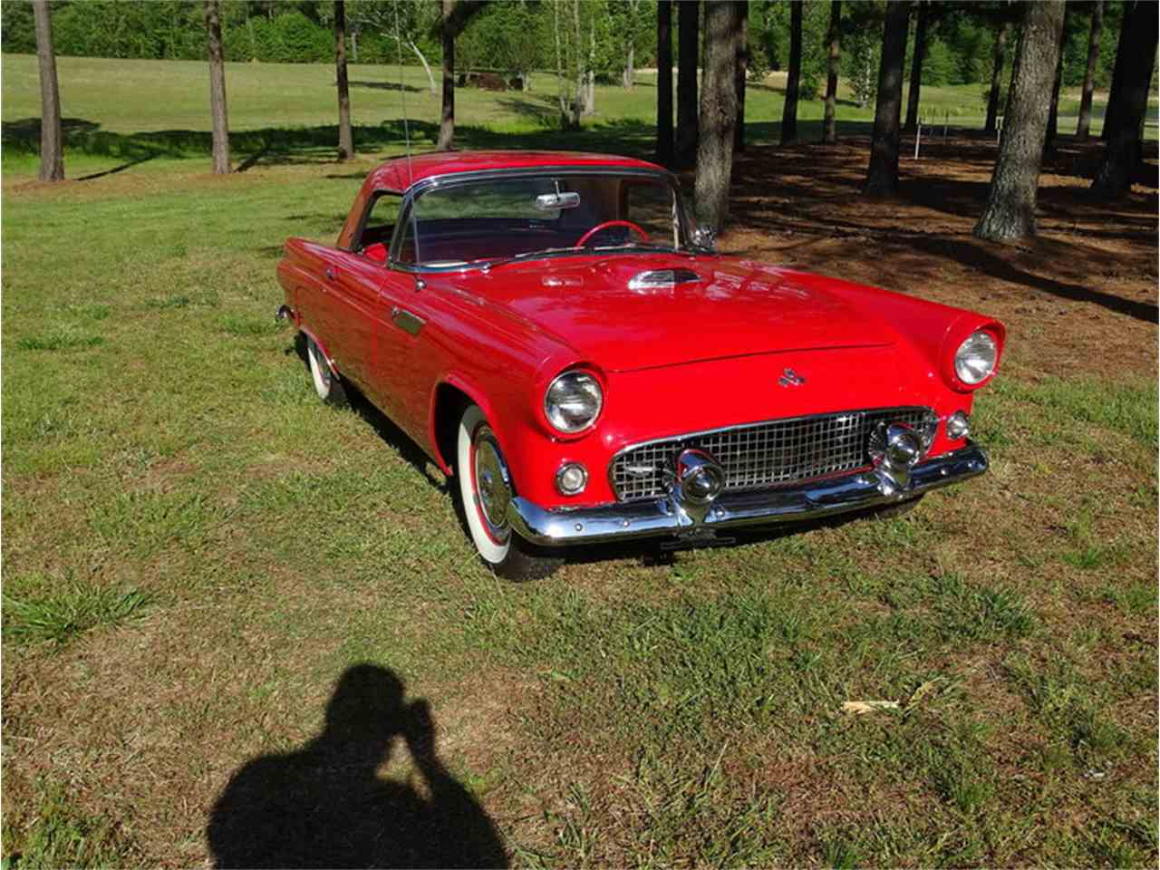 Large Picture of Classic 1955 Ford Thunderbird located in Greensboro North Carolina Auction Vehicle - NMA5