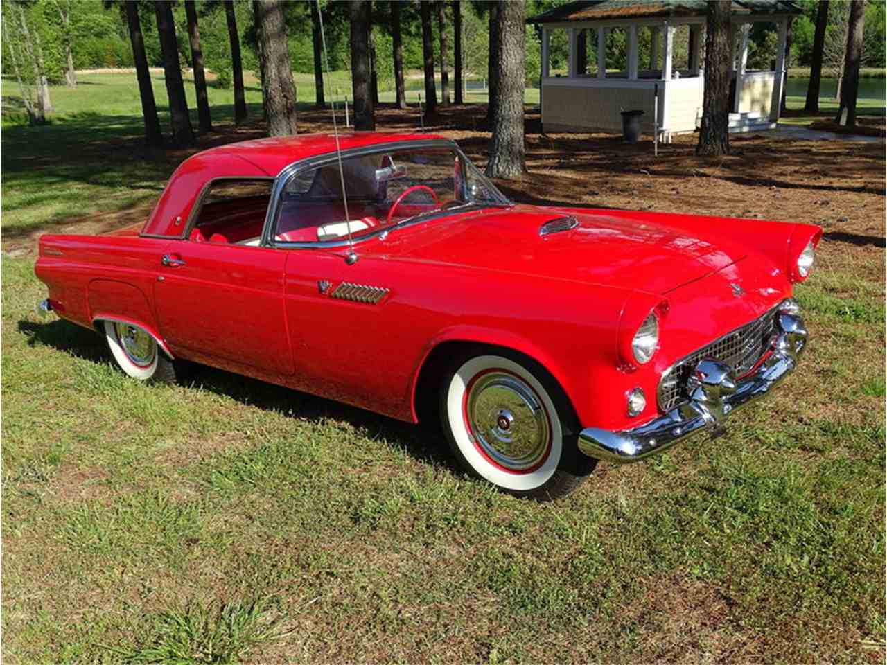 Large Picture of Classic '55 Ford Thunderbird located in Greensboro North Carolina Auction Vehicle Offered by GAA Classic Cars Auctions - NMA5