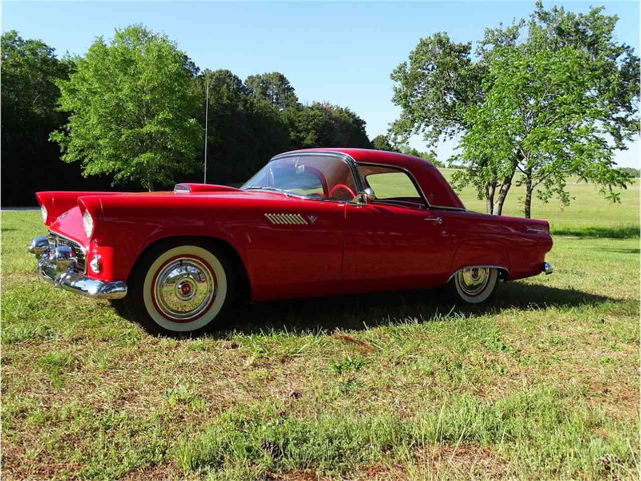 Large Picture of 1955 Thunderbird located in Greensboro North Carolina Auction Vehicle - NMA5