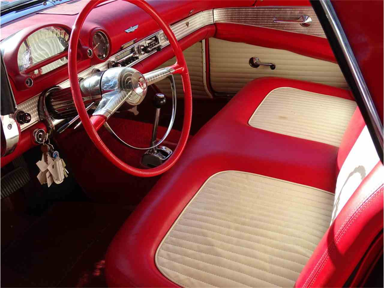 Large Picture of '55 Ford Thunderbird located in North Carolina Offered by GAA Classic Cars Auctions - NMA5