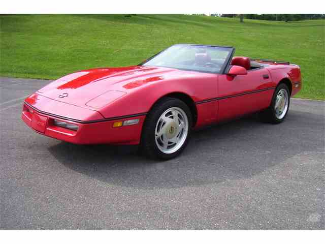 Picture of '89 Chevrolet Corvette Auction Vehicle - NMCD