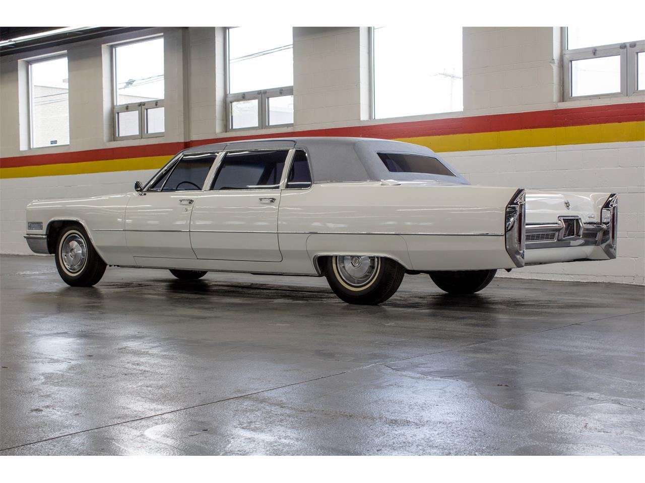 Large Picture of Classic '66 Cadillac Fleetwood Limousine located in Quebec - $49,995.00 Offered by John Scotti Classic Cars - NKXQ