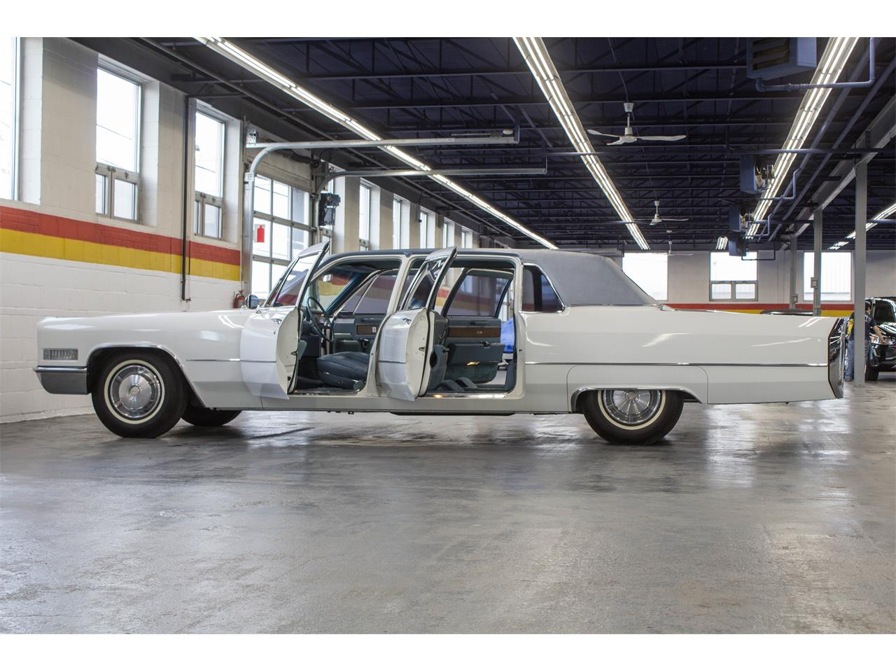 Large Picture of Classic '66 Cadillac Fleetwood Limousine Offered by John Scotti Classic Cars - NKXQ